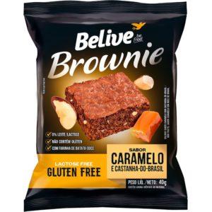 brownie sem glúten caramelo belive