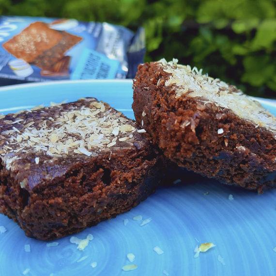 Brownie Chocolate com Coco Sem Açúcar da BeLive