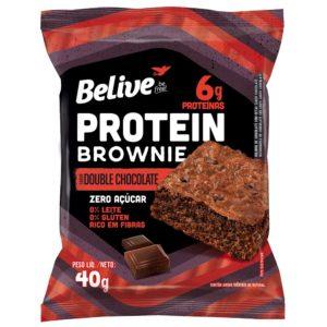 Brownie Proteico da BeLive Sem Açúcar