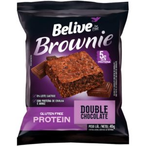 Brownie Proteico Double Chocolate Belive