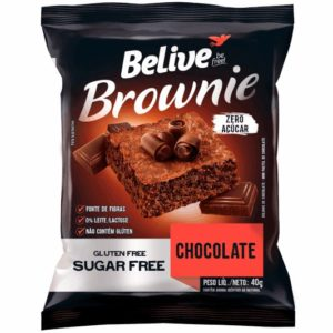 brownie fit sem açúcar belive