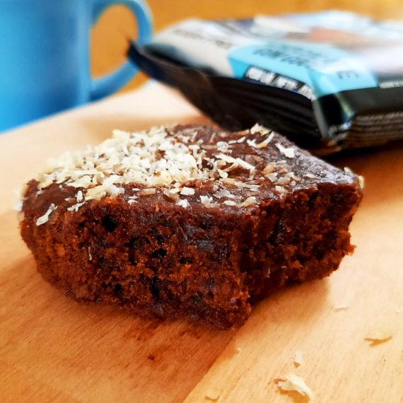 brownie fit sem açúcar chocolate com coco belive