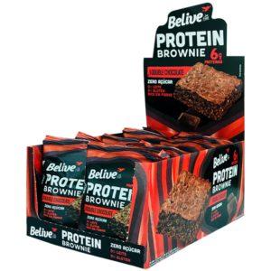 Brownies proteicos da Belive Sem Açúcar