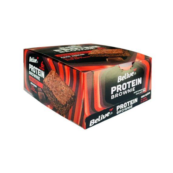 Display de brownies proteicos da belive