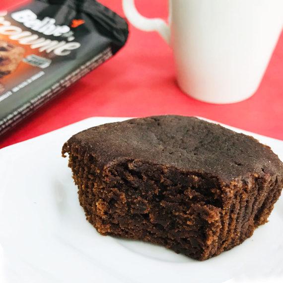 Brownie Fit Belive no prato