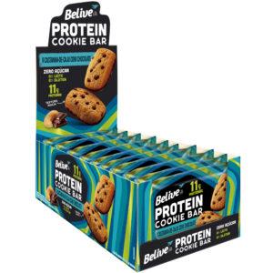 Cookies Proteicos sabor Castanha-de-caju com Chocolate da Belive