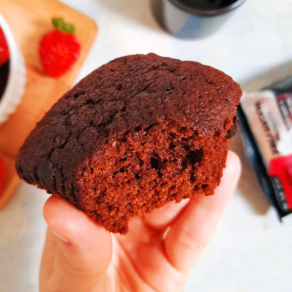 Muffin Fit Double Chocolate da Belive