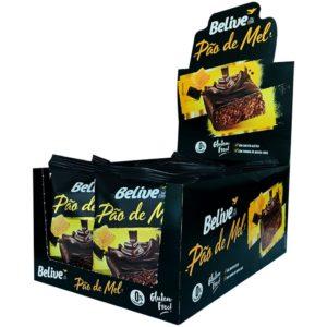 Pães de Mel Fit da Belive, em display de 10 unidades