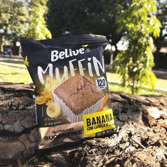 Muffin Fit de banana da belive