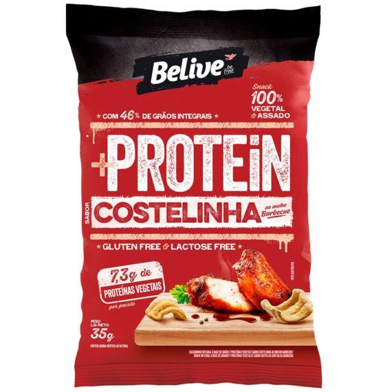 snack proteico costelinha ao molho barbecue