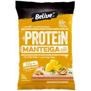 snack proteico manteiga com ervas