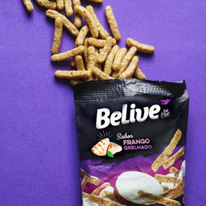 snacks proteicos sabor frango grelhado