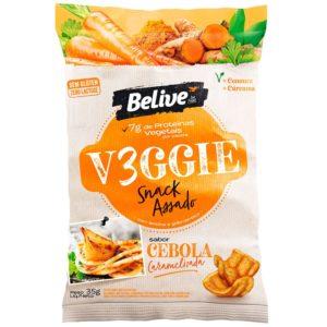 snacks saudáveis sabor cebola caramelizada