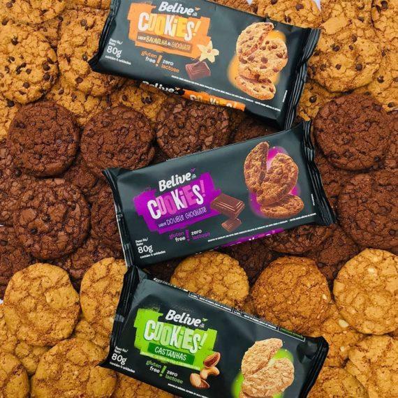 Cookies Sem glúten Belive Lanches Fit