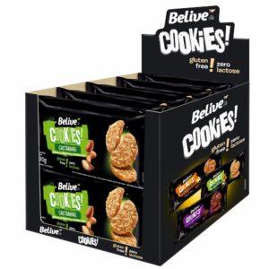 Display Cookies Sem Glúten Castanhas BeLive