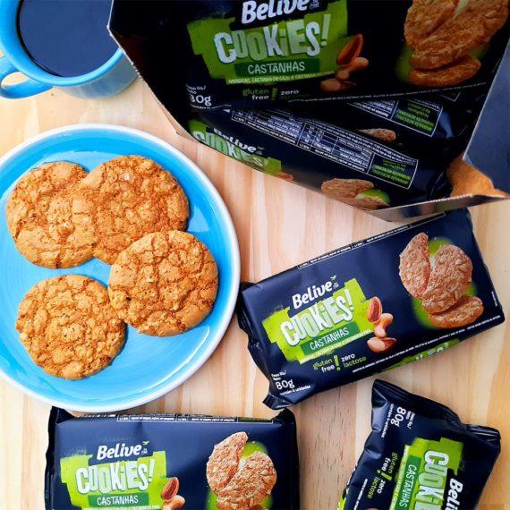 Cookies Sem Glúten sabor Castanhas da Belive