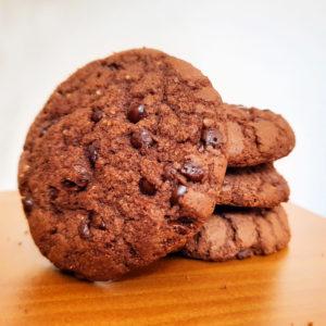 Display Cookies Sem Glúten Double Chocolate Belive