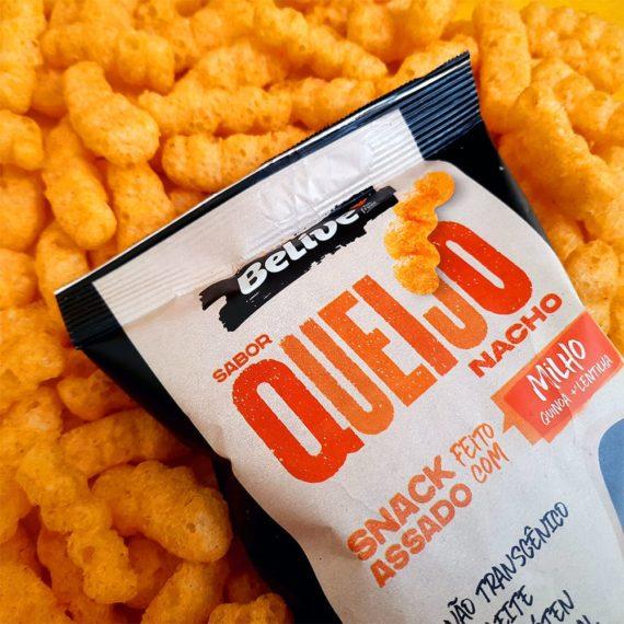 Snacks Fit sabor Queijo Nacho da Belive