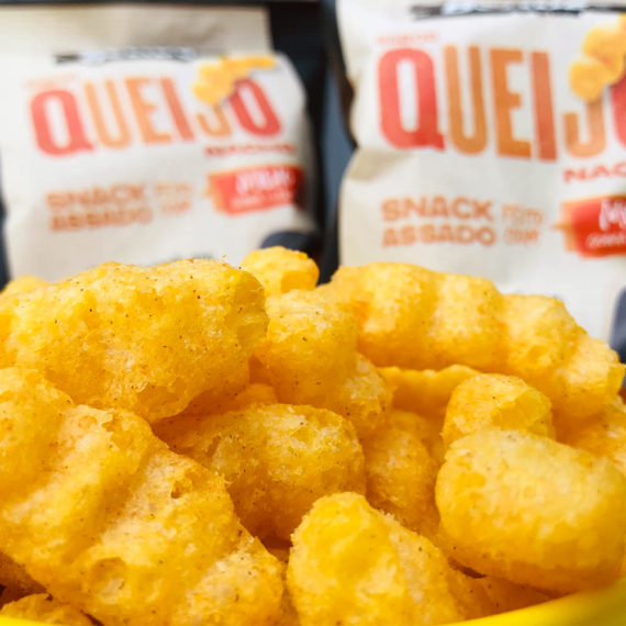 Snack Fit de Milho, sabor Queijo Nacho da Belive