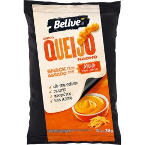 Snack Fit de Milho sabor Queijo Nacho da Belive