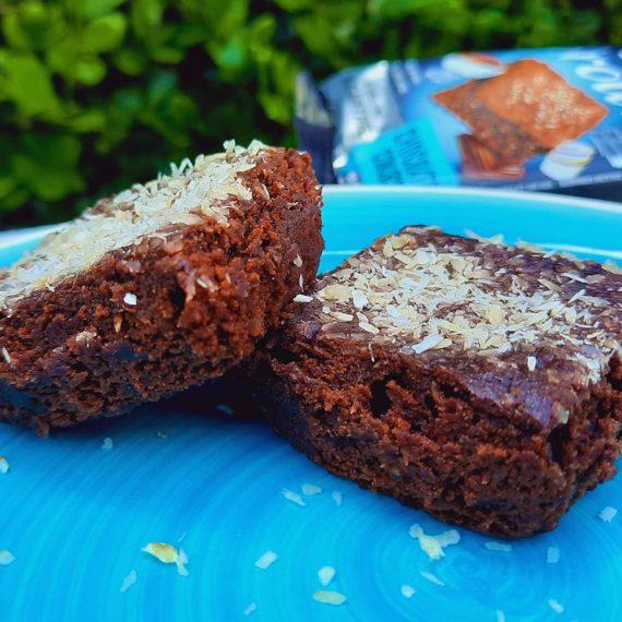 Doces Sem Açúcar Brownie Chocolate com Coco Belive