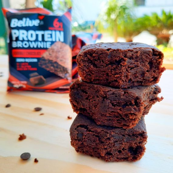 Alimentos Sem Glúten Brownie Belive