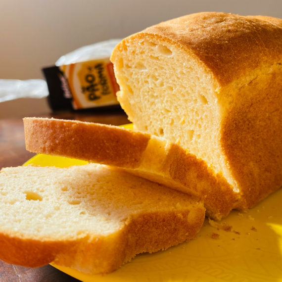 Pão Sem Glúten e Sem Lactose Super Macio da Belive